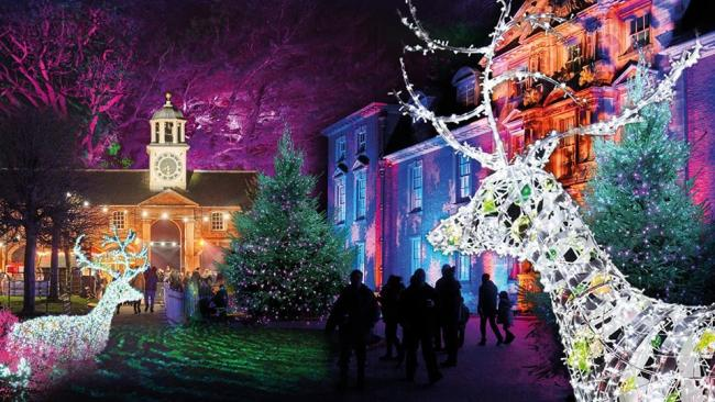 Christmas at Dunham Massey. Pic credit: Dunham Massey National Trust Facebook