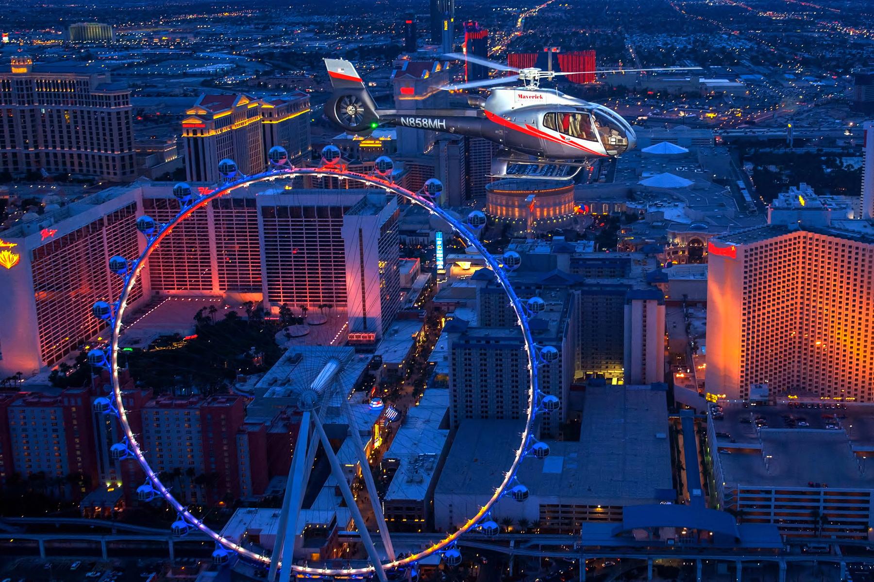 Feel like a high-flier in Las Vegas