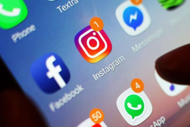 Facebook, Instagram and WhatsApp are all down. Pic credit: Press Association