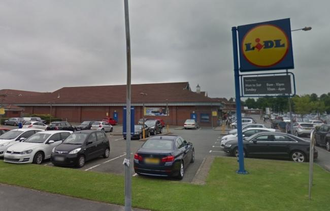The former Lidl at Summerfield Village Centre