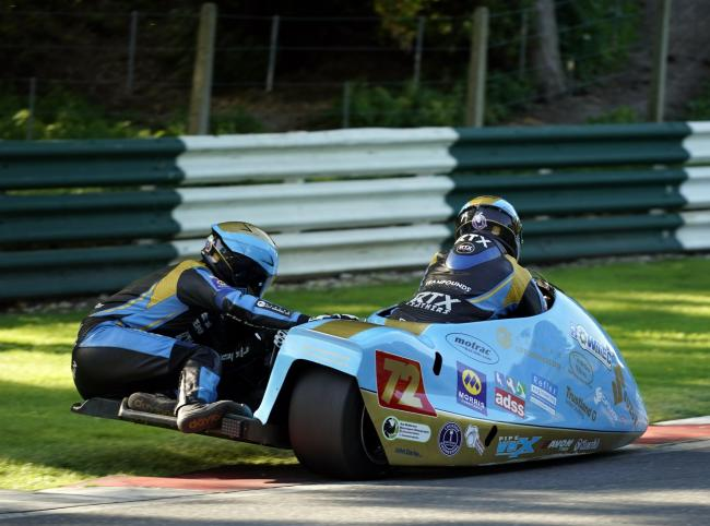 Team Founds Racing were in dominant mood during the latest round of the British F2 Sidecar Championship at Cadwell Park, recording three race wins and lowering the lap record. Picture: Ste McNorton Photography/@mcmotorsphoto