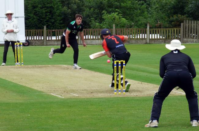 Toft ended the run of holders Nantwich in the Cheshire County League's T20 when they triumphed in a semi-finals encounter at Hyde on Sunday. Picture: Jeff Tenner