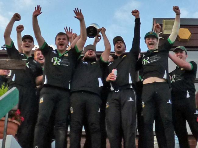 Toft celebrated a victory over Nantwich in the Cheshire County Cricket League's T20 final. The Knutsford club will host the Area Finals Day at their Booth's Park home on Sunday. Picture: Jeff Tenner