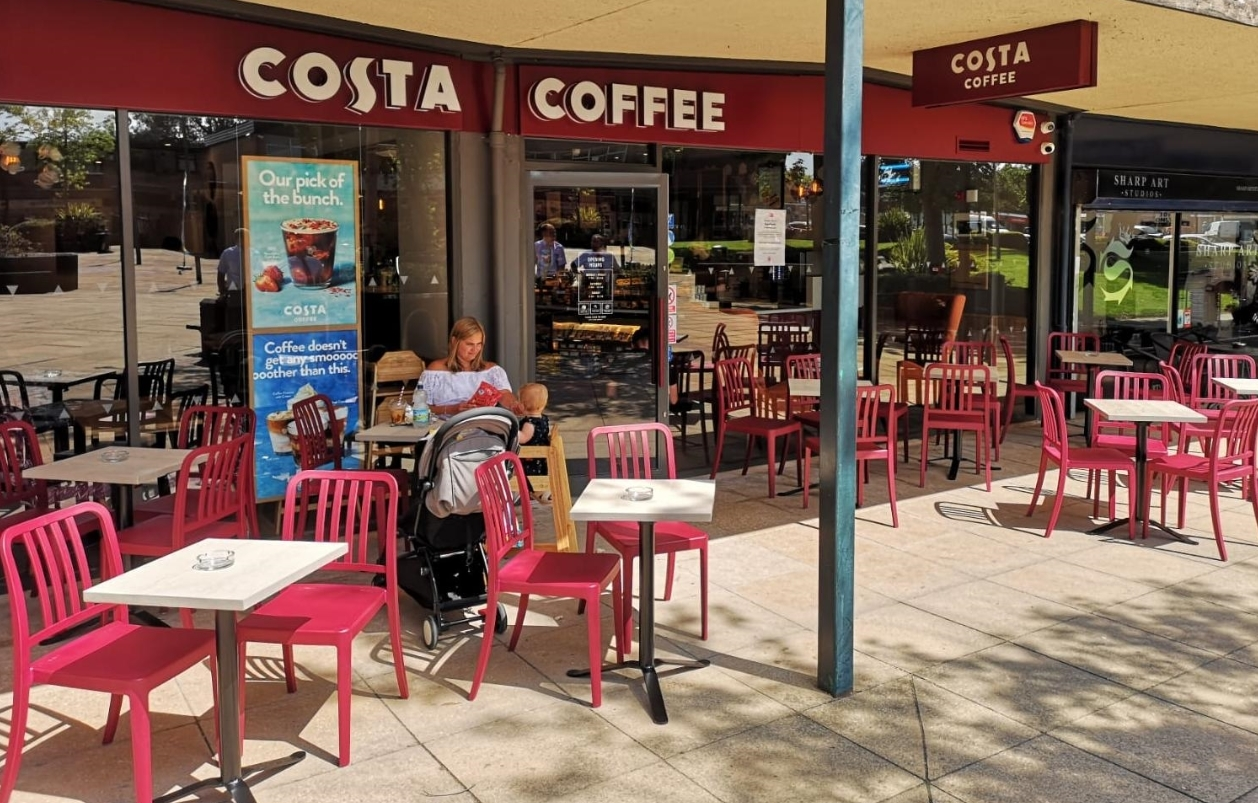 Costa Coffee Opens At The Paddock In Handforth Knutsford