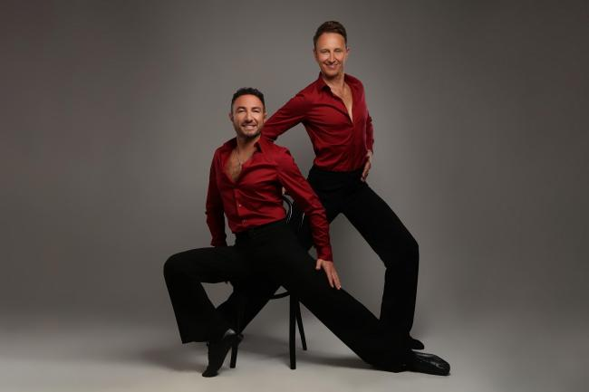 Ian Waite and Vincent Simone