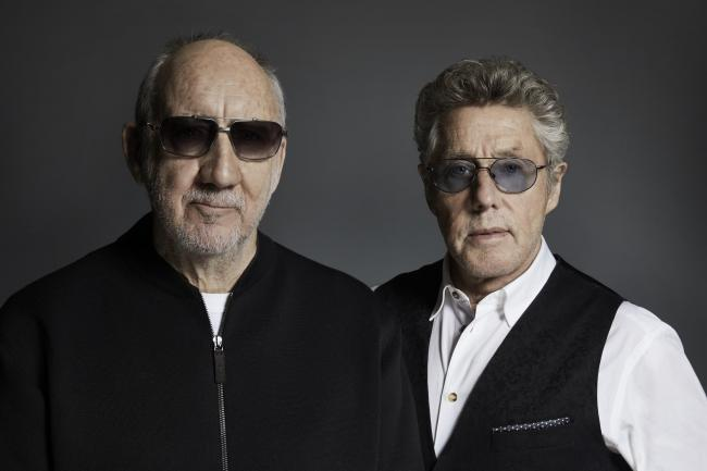 The Who pictured by Rick Guest