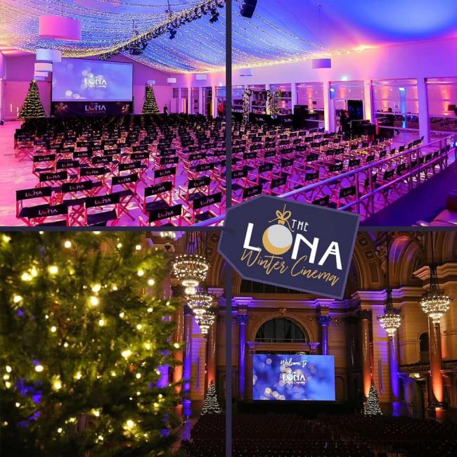 Christmas films will be showing at this year's Luna Winter Cinema
