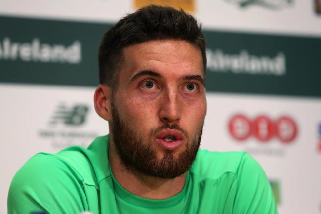 Republic of Ireland defender Matt Doherty is ready to line up on the left in Georgia