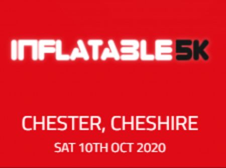 Inflatable 5k Obstacle Course Run - Chester