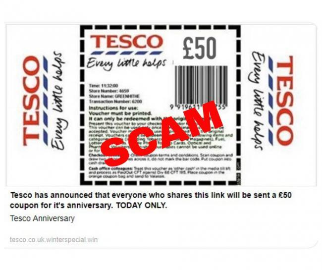 Morrisons and Tesco shoppers have been warned to ignore this voucher scam