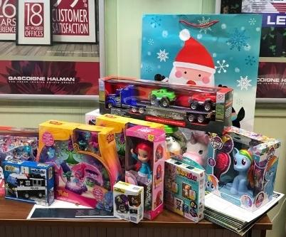 Toys donated for a previous appeal