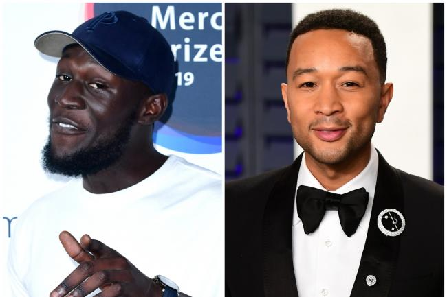 Stormzy and John Legend