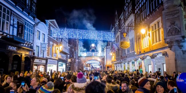 Crowds set to gather in Chester for 12 Days of Christmas parade