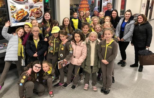The Brownies at Aldi in Knutsford