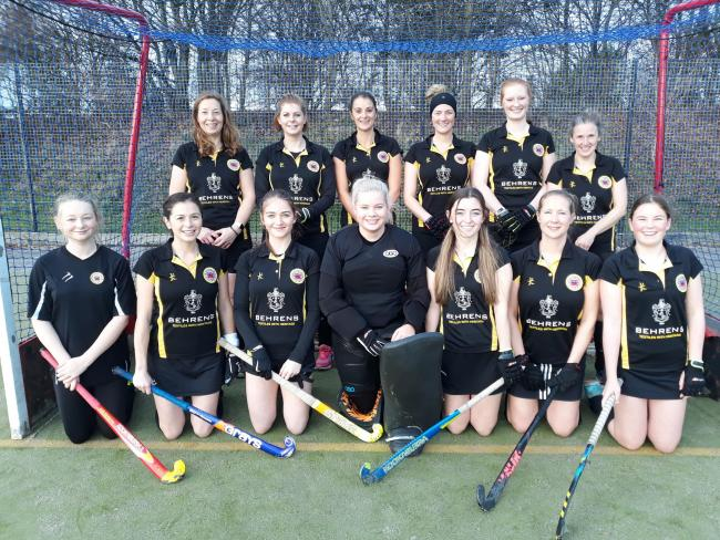 Knutsford Hockey Club ladies. Picture: Mike Parsons
