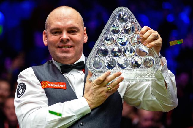 Stuart Bingham won the Masters title at Alexandra Palace