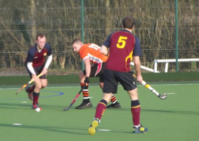 Action from Wilmslow men's firsts win over Chapeltown