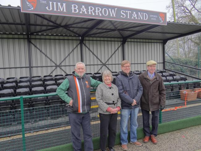 New stand unveiling at Knutsford Hockey Club