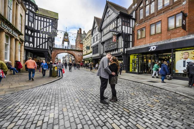 Chester launches Valentine's trail with prizes on offer