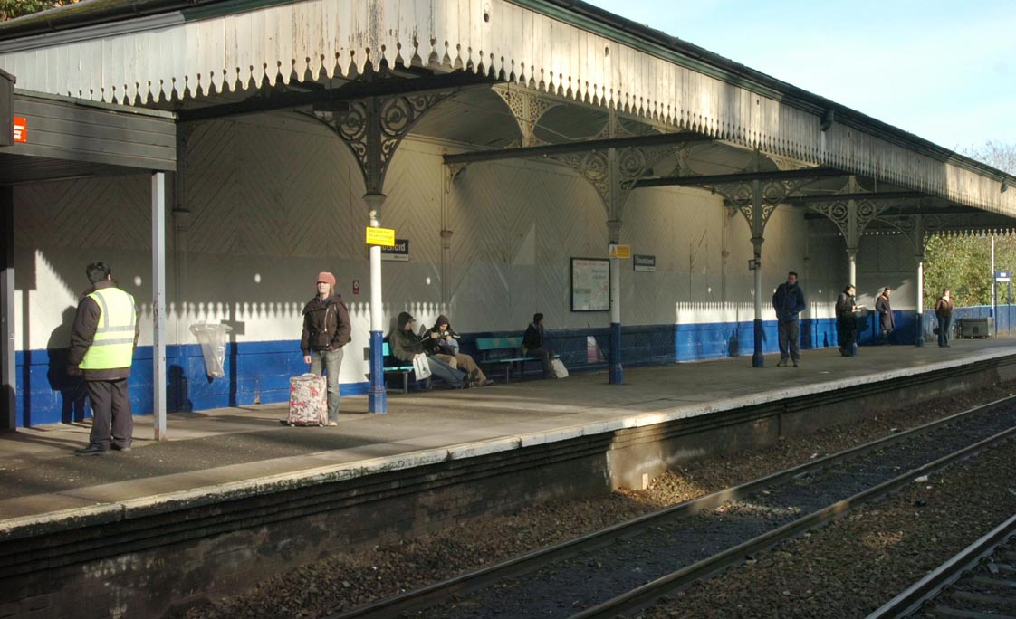 Knutsford station sees huge increase in train travel