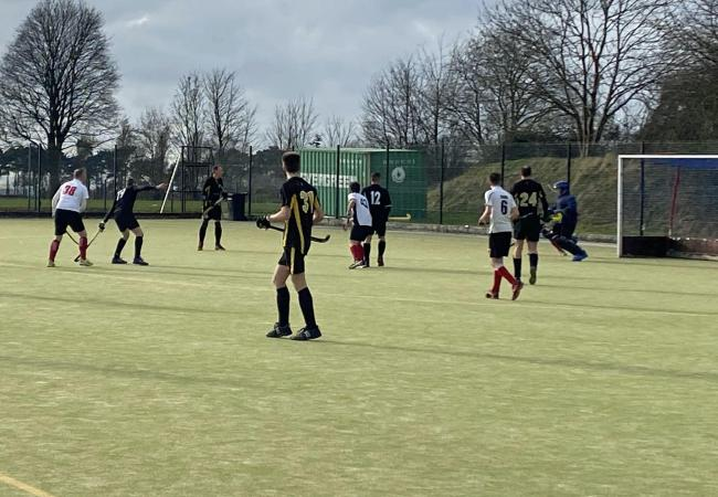 Knutsford Hockey Club men's seconds against Deeside