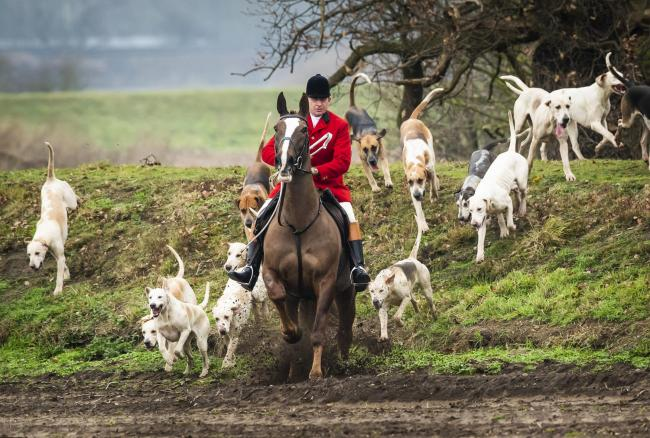 Pro-hunt campaigners say events take place lawfully. Image: Danny Lawson/PA Wire