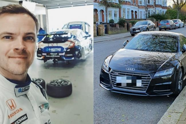 Racing driver volunteers to ferry patients in sports car as part of NHS scheme