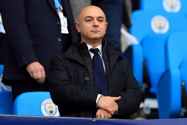 Daniel Levy has said Tottenham's non-playing staff will take an 20 per cent pay cut for the next two month