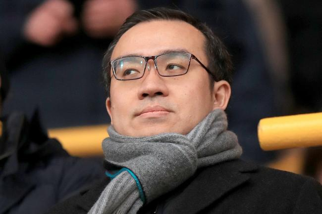 Wolves chairman Jeff Shi has taken on extra responsibilities