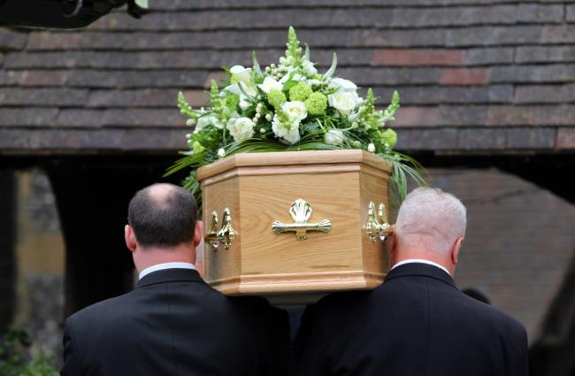 Death numbers rise in 2020 in Cheshire