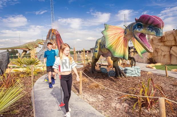Dino Falls adventure golf facility to re-open next week