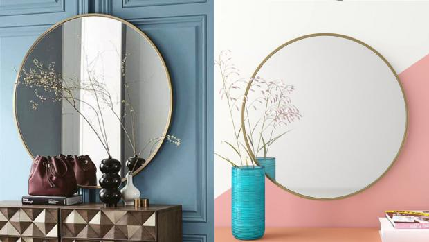 Knutsford Guardian: A bigger, more modern mirror will create the illusion of more space. Credit: Wayfair