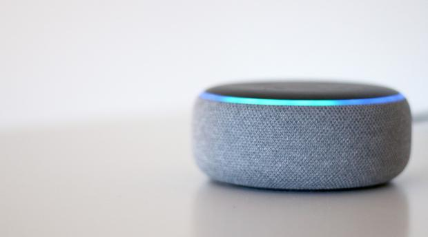 Knutsford Guardian: The Echo Dot (third-generation) is one of the smallest Amazon Echo smart speakers. Credit: Reviewed / Betsey Goldwasser