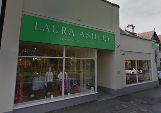 The Laura Ashley store in Knutsford