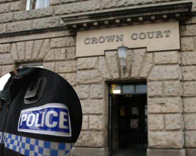 PCSO Philip Barber was jailed at Chester Crown Court today, Friday