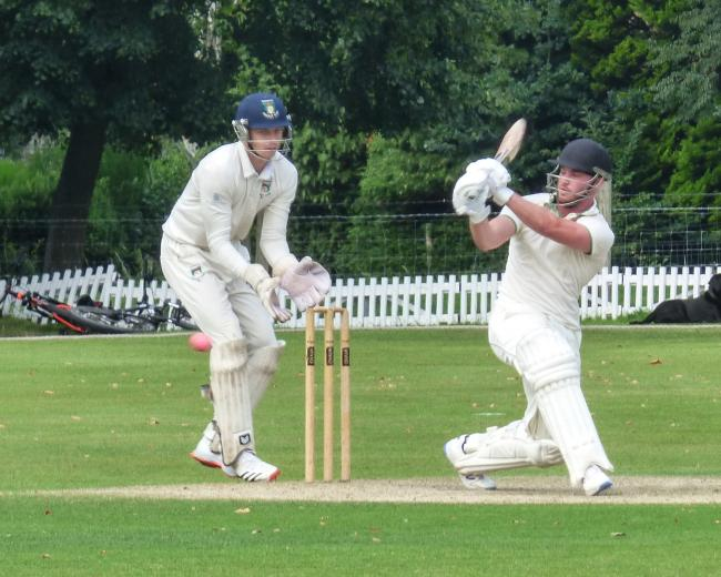 James Scott batting for Toft against Didsbury. Picture: Jeff Tenner