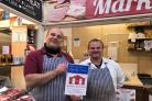 Mike Brown and Mike Oldham from The Market Butcher
