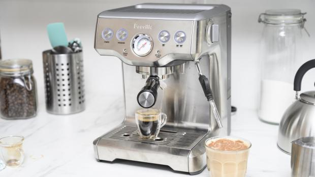 Knutsford Guardian: If you're trying to kick your Costa habit, you may benefit from an espresso machine. Credit: Reviewed / Betsey Goldwasser