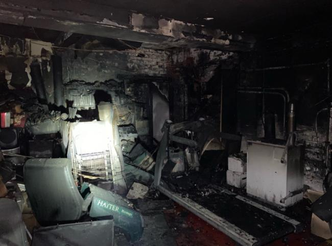 Fire crews called out to Mobberley house fire last night