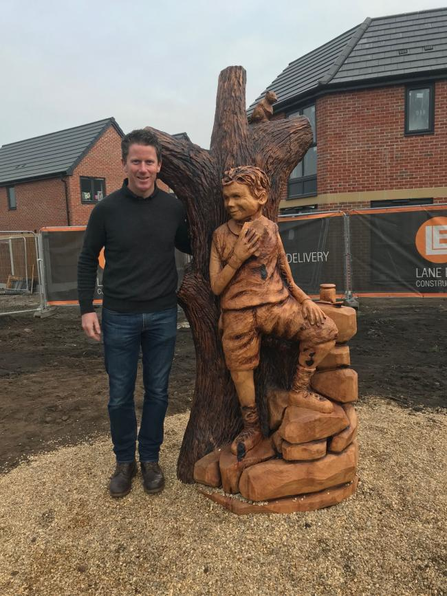 How Mobberley chainsaw artist carved himself a career