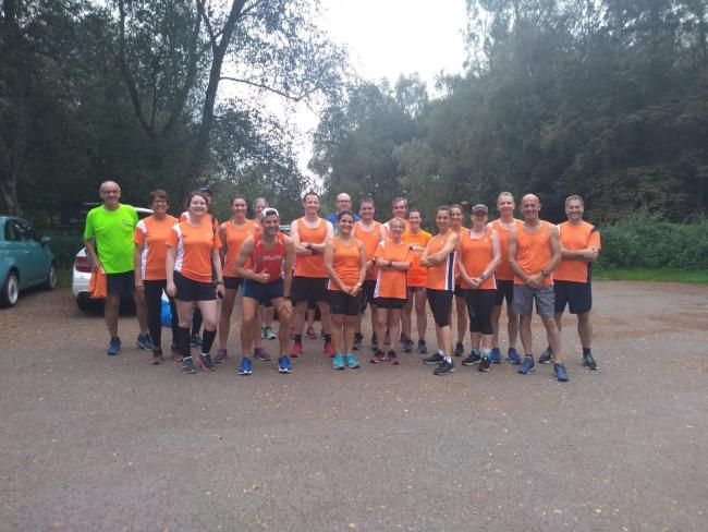 Members of Styal Running Club, a good number of whom will be taking on the Race to The North Pole Challenge over a 12-day period