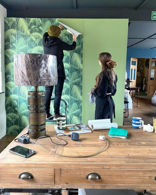 Interior designers have been decorating showrooms at Arthur Lee Interiors to welcome customers back with new inspiration