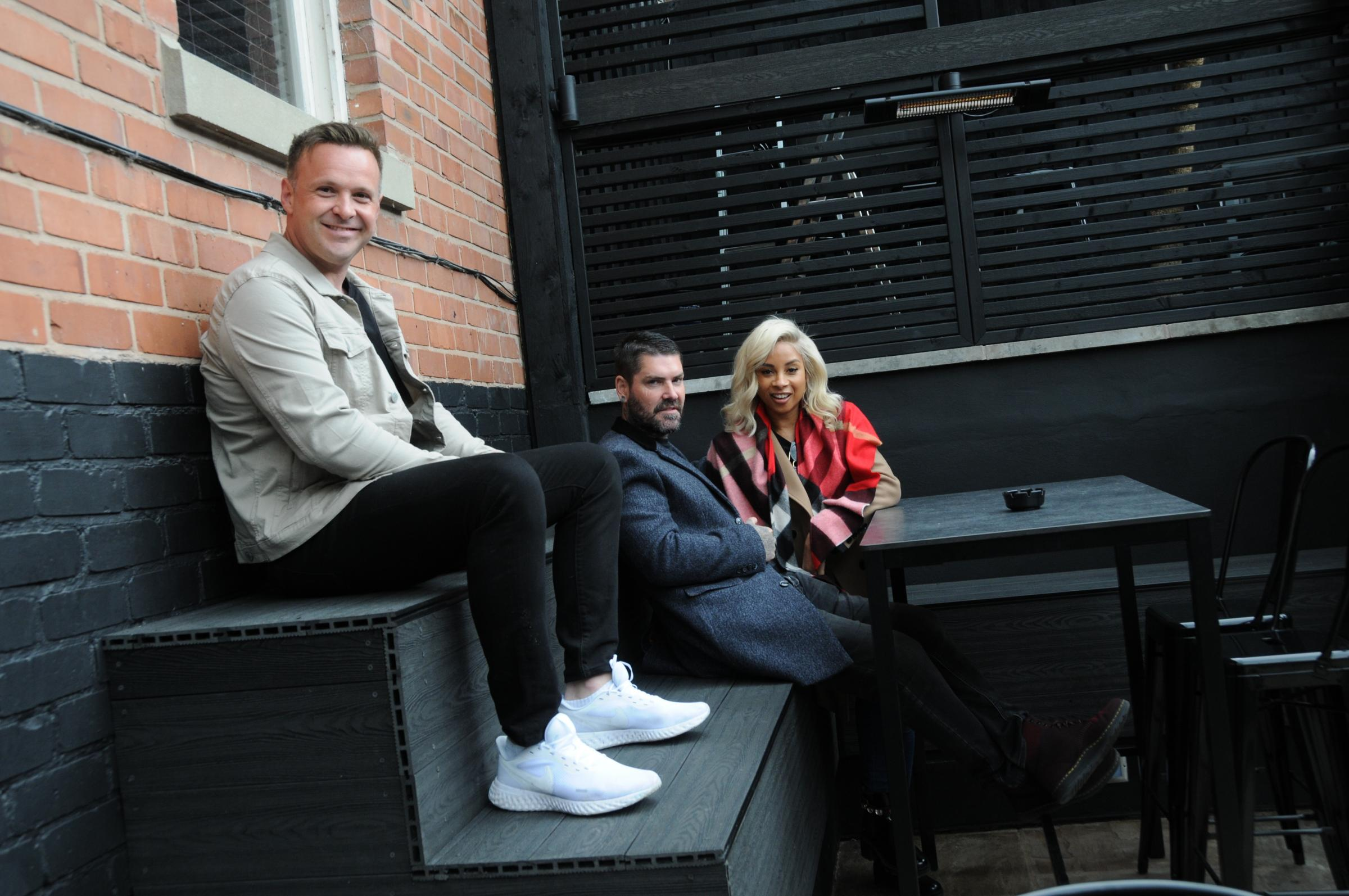 Shane Lynch has opened a bar with his wife Sheena and business partner Nathan Gerhold