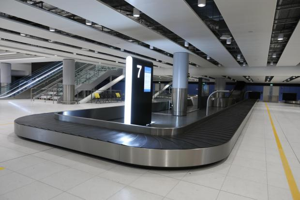 Knutsford Guardian: Baggage area at Manchester Airport