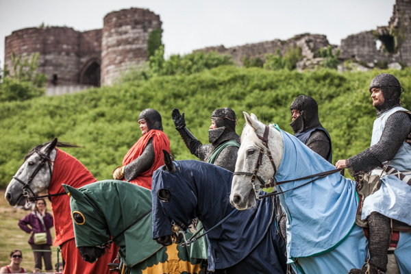 The Knights Tournament returns to Beeston Castle. Picture: English Heritage.