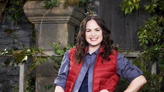 Knutsford Guardian: Giovanna Fletcher won last year's I'm A Celebrity on ITV.