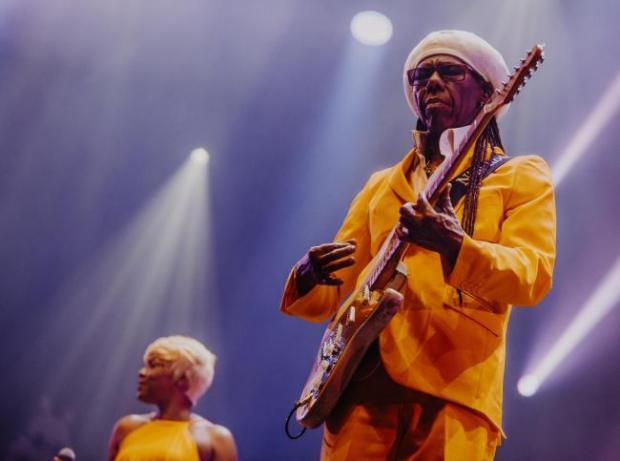 Knutsford Guardian: Nile Rodgers is heading to a County Durham venue this weekend to perform alongside CHIC