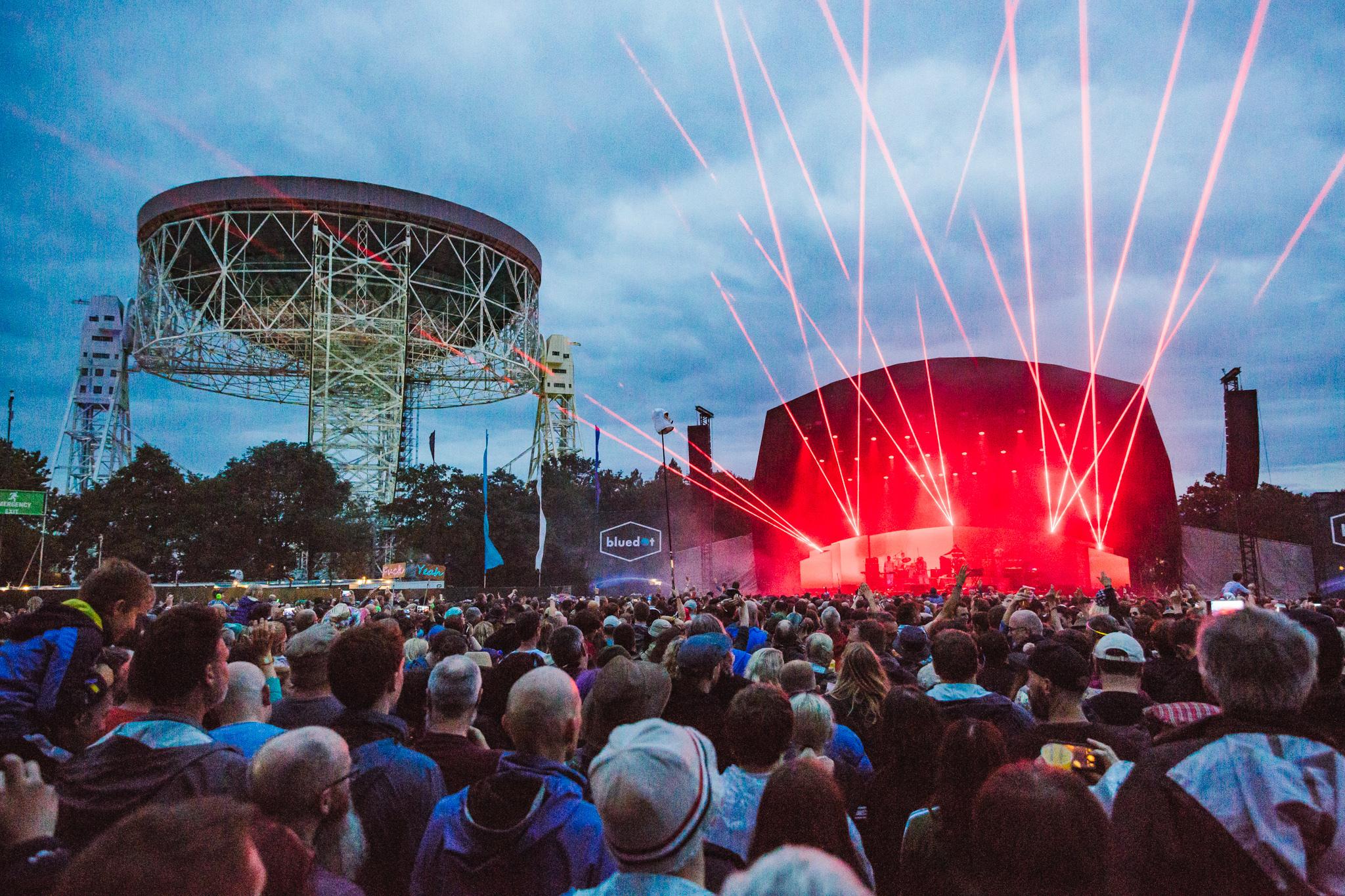 Bluedot festival in full flow