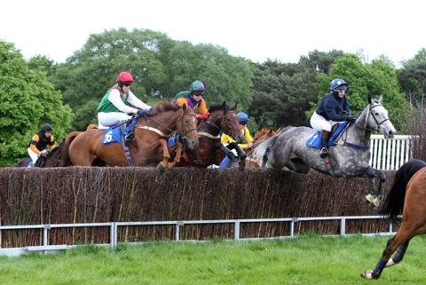 Knutsford Races at Tabley in 2011