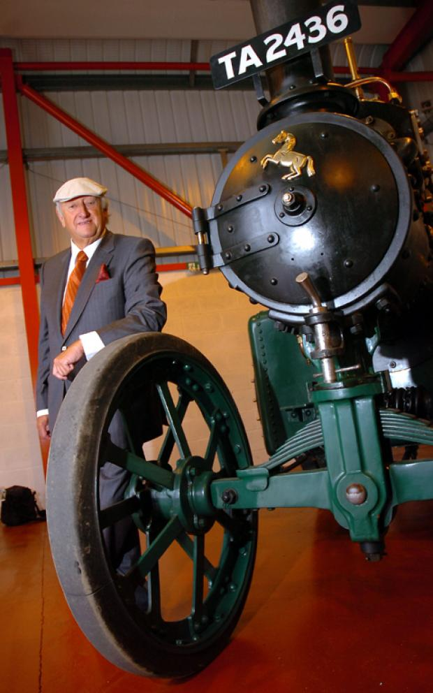 Knutsford Guardian: Michael Oliver, with Fred Dibnah's steam engine, has been made an OBE in the Queen's Birthday Honours List. n103273